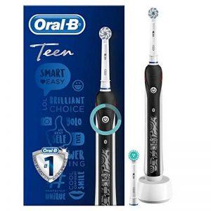 Oral-B TEEN Black Brosse À Dents Électrique Rechargeable par Braun de la marque Oral-B image 0 produit