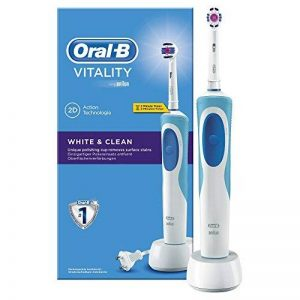 Oral B Vitality Brosse à dents électrique White & Clean White and Clean bleu/blanc de la marque Oral-B image 0 produit