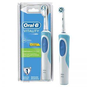 Oral-B Vitality CrossAction - Brosse à Dents Électrique Rechargeable - Minuteur Intégré CrossAction de la marque Oral-B image 0 produit