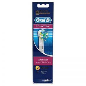Oral-B Vitality Floss Action - Brossettes de Rechange pour Brosses à Dents Électrique - Lot de 2 de la marque Oral-B image 0 produit