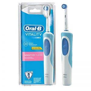 Oral-B Vitality Sensitive Clean - Brosse à Dents Électrique Rechargeable - Minuteur Intégré Sensitive Clean de la marque Oral-B image 0 produit