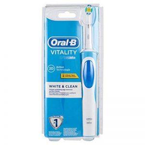 Oral-B Vitality White Plus Clean - Brosse à Dents Électrique Rechargeable - Minuteur Intégré White Plus Clean de la marque Oral-B image 0 produit