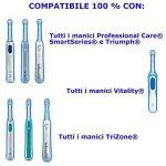 outletissimo 24têtes de rechange Sensitive compatibles Oral B Brosse à dents électrique tête de la marque OUTLETISSIMO image 1 produit