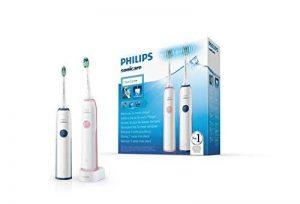 Philips Sonicare CleanCare HX3212/61 Brosse à dents électrique sonique (batterie intégrée, 110-220, nickel-hydrure métallique (Ni-MH), 2pièces) de la marque Philips image 0 produit