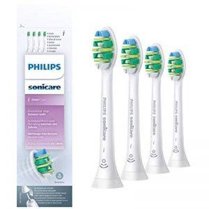 Philips Sonicare HX9004/10 Pack têtes de brosse Optimal InterCare I Standard avec BrushSync (X4) de la marque Philips image 0 produit