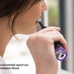 Philips Sonicare hx9924/13Diamond Clean Smart Brosse à dents sonique électrique avec verre et Chargeur de voyage Étui de chargement USB, Noir de la marque Philips image 2 produit