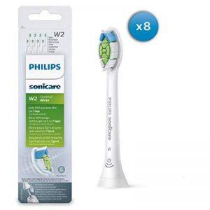 Philips Sonicare optimale Blanc DiamondClean Brushsync activée Têtes de remplacement, Blanc, Lot de 8 de la marque Philips image 0 produit