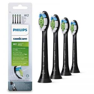 Philips Sonicare optimale Blanc DiamondClean Brushsync activée Têtes de remplacement, Noir, Lot de 4 de la marque Philips image 0 produit