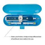 Plastique Trousse de voyage pour brosse à dents électrique Oral-B PRO Series, Bleu de la marque Medlife image 3 produit
