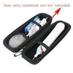 Pour Oral-B PRO 1000 CrossAction Brosse à dents électrique rechargeable EVA Dur Cas étui de Voyage Housse par Khanka de la marque image 1 produit