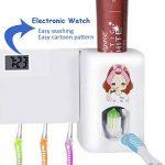 Puersit Distributeur automatique de dentifrice avec montre électronique pour les adultes et les enfants de la marque puersit image 1 produit