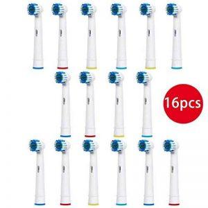 Remplacement de la Brosse à Dents de Oral B Têtes de Brosse à Dents Electrique - 16 pcs de la marque image 0 produit