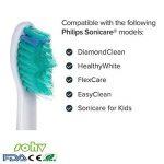 sohv® brossettes. Philips Sonicare ProResults. Plein de rechange compatible avec les modèles de brosse à dents électrique Philips suivants: DiamondClean, FlexCare, FlexCare Platinum, FlexCare (+), HealthyWhite, 2Series, Easy Clean and PowerUp, 12stk (3 image 1 produit