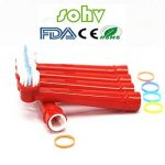 sohv® pour enfants avec têtes de brosse à dents électrique standard pour Braun Oral-B–– 4,12pcs (3packs) de la marque Sohv image 2 produit