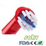 Sohv® Remplacement de têtes brossettes pour la Braun EB10-4 Oral-B Stages Power Kids,12 pcs (3-pack) de la marque Sohv image 1 produit