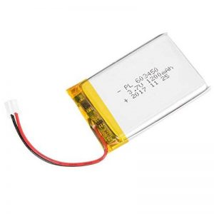 Sourcingmap alimentation DC 3.7V 1200mAh 603450rechargeable Polymer Lithium Batterie Li-Po de la marque Sourcingmap image 0 produit