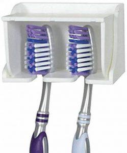 Support de brosse à dents mural Plastique électrique Têtes de brosse à dents support Cintre de la marque Aptoco image 0 produit