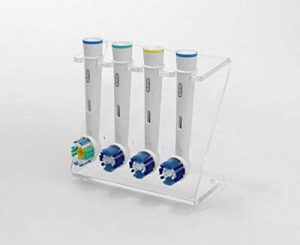 Support pour 4 têtes de brosse à dents électrique Différentes couleurs de la marque Plastic Online Ltd image 0 produit