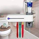 Symboat Distributeur automatique de dentifrice de décapant de support de stérilisateur de brosse à dents de lumière UV multifonctionnel de la marque Symboat image 1 produit