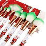 TAOtTAO 10Motifs de Noël et de beauté de Maquillage Maquillage Pinceaux de la marque TAOtTAO image 1 produit