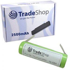 Trade-Shop Batterie Ni-MH haute performance remplaçant Braun 3731 3738 pour Braun Oral-B OralB Professional Care 8000 8300 8500 9500, Triumph 4000 5000 9000 9400 9500 9900 1,2V 2500mAh de la marque Trade-Shop image 0 produit