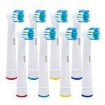 Têtes de rechange à poils souples pour brosse à dents électrique compatibles Oral-B de Braun. de la marque PEPECARE image 1 produit