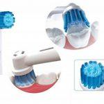 UCA® ebs17 - 8 Têtes de brosse à dents électrique compatible avec Braun Oral B 3D de rechange Sensitive Clean de la marque UCA image 1 produit