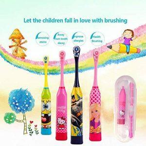 Ultrasons Vibrant pour enfant Brosse à dents blanchiment des dents Brosse à dents électrique de la marque CLKJCAR image 0 produit