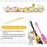 Ultrasons Vibrant pour enfant Brosse à dents blanchiment des dents Brosse à dents électrique de la marque CLKJCAR image 3 produit