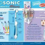 Visiomed Brosse à Dents Électronique Prosonic 2 Orange 30 000 Vibrations/Minute de la marque Visiomed image 1 produit