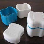 Vococal® Boite pour Dentier,Prothèse Dentaire Bain Boîte Étui Dentaires Dentier Conteneur de Stockage Rinçage Panier(Blanc) de la marque Vococal image 3 produit