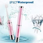 Vococal® Es-228 Ultrasonic Voyage Portable Toothbrush Brosse à Dents Électrique Oral Hygiène Dentaire Soins Rose de la marque Vococal image 2 produit