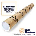 Wallmonkeys Fille brossage SES dents Peel et bâton Stickers muraux Wm102385(18en L x 12en H) de la marque Wallmonkeys Wall Decals image 2 produit