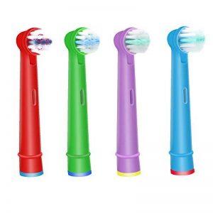 Wuyan pour Oral B Tête de brosse à dents électrique Compatible pour enfants pour enfants, têtes de brosse à dents de remplacement de la marque WuYan image 0 produit