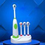 XUAN Brosse à dents électrique de taille de la famille de base quatre tête de brosse rotative Brosse à dents électrique de la marque Toothbrushes image 2 produit