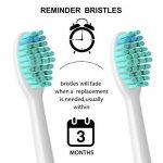 Yanban Lot de 8têtes de brosse à dents pour Philips Sonicare Hx6500HX6511Hx6530Hx9340Hx6950Hx6710Hx9140 de la marque Yanban image 2 produit