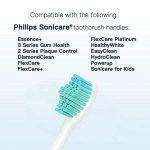 Yanban Lot de 8têtes de brosse à dents pour Philips Sonicare Hx6500HX6511Hx6530Hx9340Hx6950Hx6710Hx9140 de la marque Yanban image 4 produit