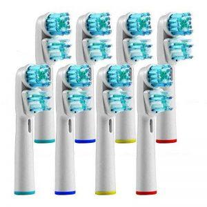 Yumsum Brosse à dents électrique Têtes de rechange pour double Generic Sb-417a/EB417–4pour Oral B et poignées Braun Clean Pro Care de la marque YUMSUM image 0 produit